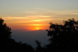 Sunset Nagarkot