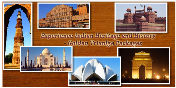 Golden Triange Tour Packages India - Uttarpradesh, Rajasthan, Delhi