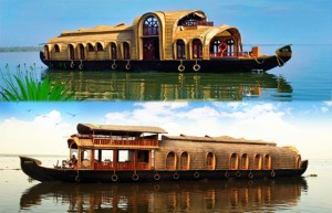 Kerala Tourism Attractions - Houseboat Tour in Kerala Backwaters