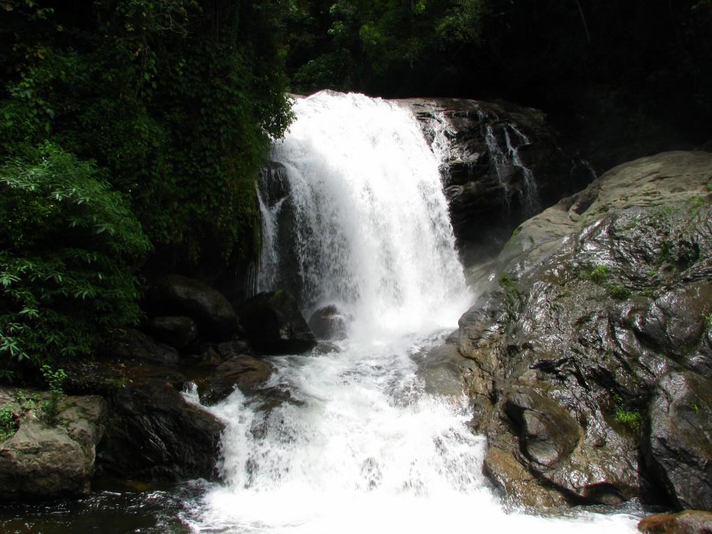 Kerala Tourism Attractions - Lakkom Waterfalls Munnar