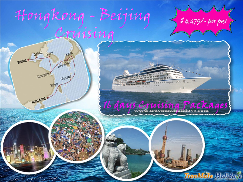 Book Hong Kong to Beijing Luxury Cruising Package from india