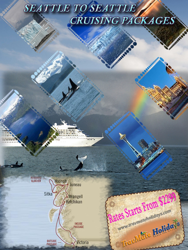 Book Seattle to Seattle Luxury Cruise Package from India